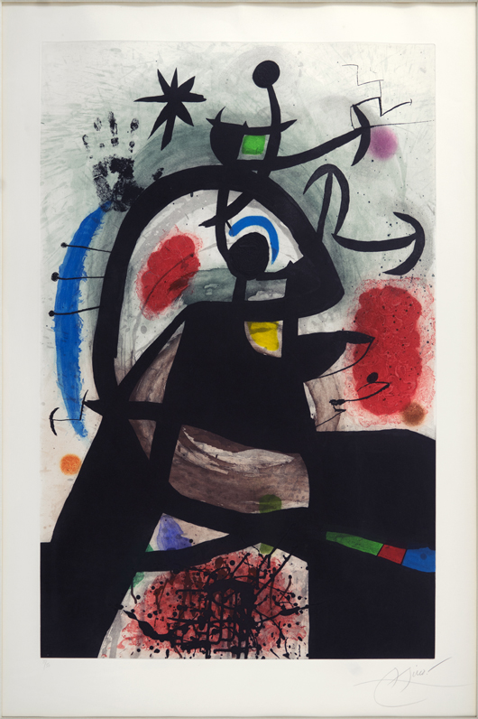 Trio of Joan Miro works highlights Susanin's auction March 21