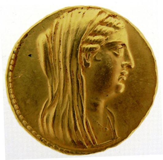 College 'rediscovers' collection of rare Greek, Roman coins