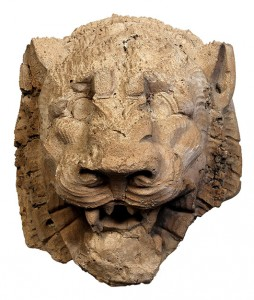 Pictured here is one of the fragments of the original Palace of Fine Arts, San Francisco, designed by Bernard Maybeck. This lion's head is estimated to sell for $1,000 to $1,500. Clars Auction Gallery image