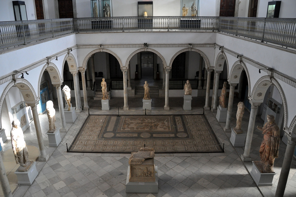 The Carthage Room of the Bardo National Museum in Tunis. Image by Alexandre Moreau. This file is licensed under the Creative Commons Attribution-Share Alike 2.0 Generic license.