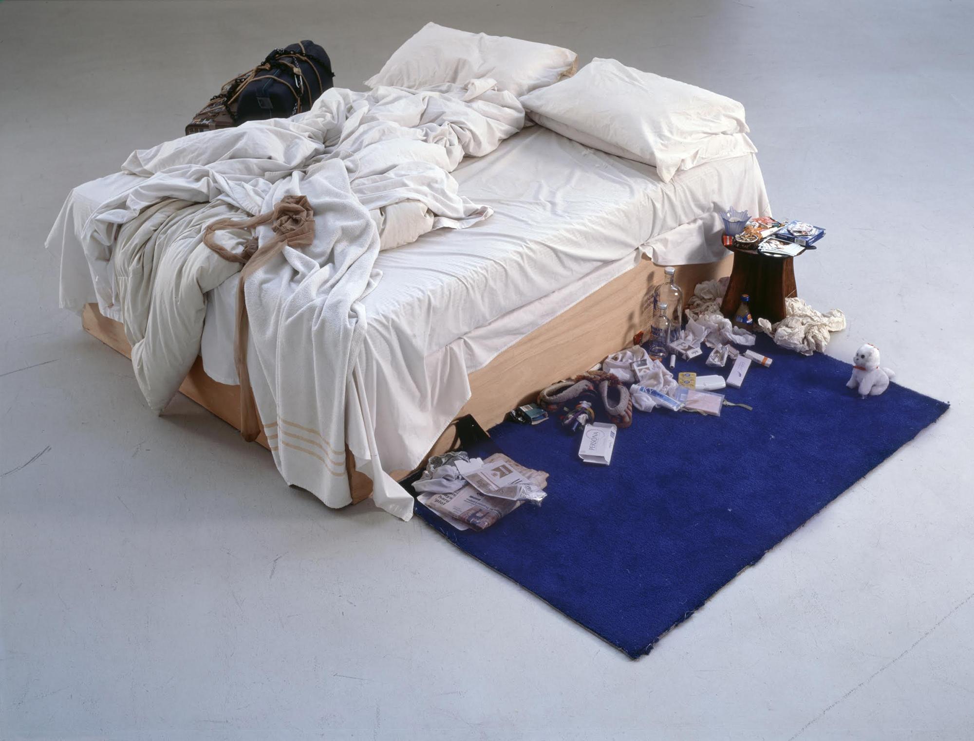 Tracey Emin, 'My Bed' (1968), Tate, © Tracey Emin
