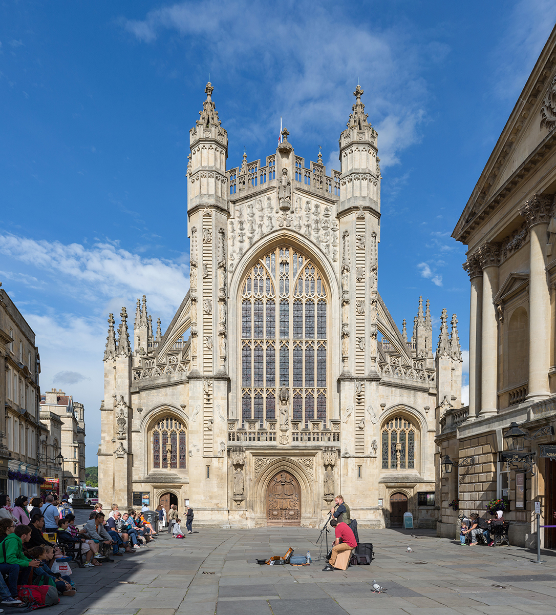 Georgian architecture, hot springs among gems in Bath