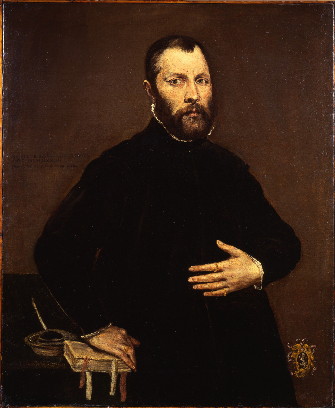 'Portrait of a Gentleman' by El Greco, shown a few years ago at the European Fine Art Fair, and subsequently found to have been looted from a Viennese family by the Gestapo. It has now been restituted to the heirs of its original owner. Image courtesy the Commission for Looted Art in Europe and Art Recovery International.