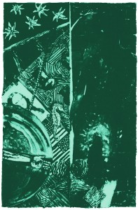 'Seasons' by Jasper Johns. A&D Gallery image