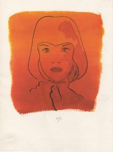 'Rosso' Allen Jones. A&D Gallery image