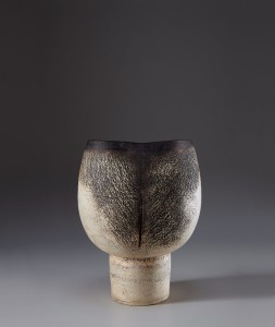 Last December, a large stoneware goblet, 15 7/8 inches high, sold for $165,500 at Phillips New York (est. $60,000-$90,000). The work was once owned by the Victoria and Albert Museum and had been part of a traveling exhibition of Coper's ceramics. Phillips image