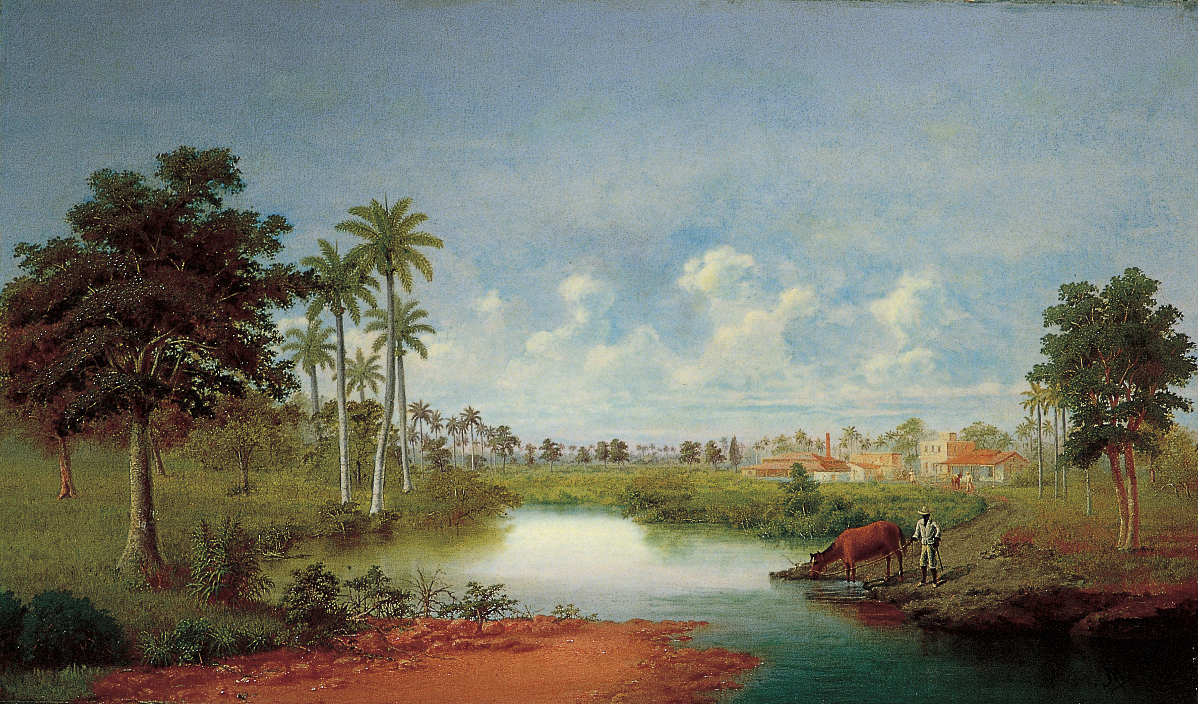 Included in the Daytona Beach collection is 'Cuban Landscape' by Miguel Arias. Courtesy Cuban Foundation Museum, Museum of Arts & Sciences