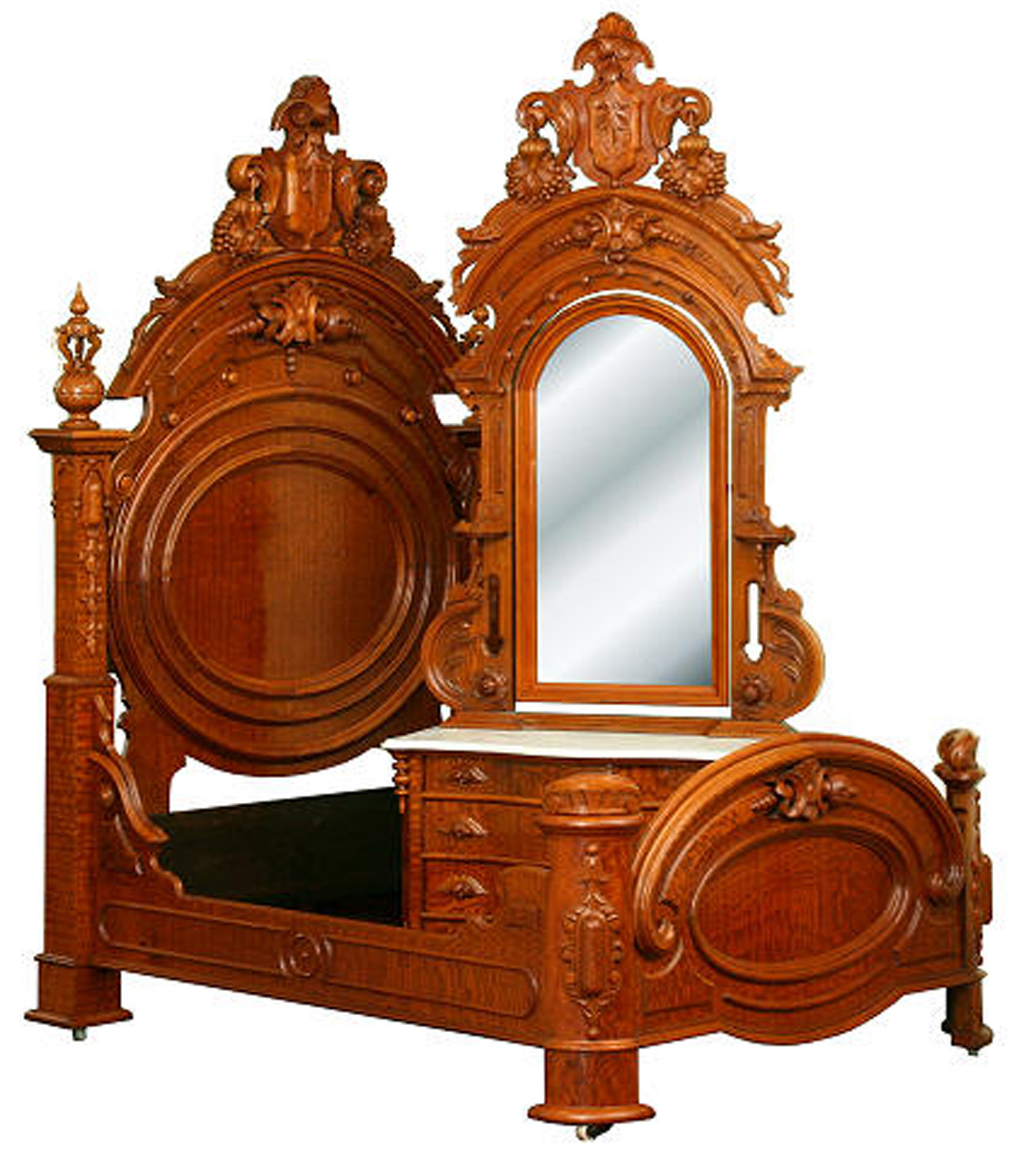 Introduced in the early 1850s as a counter balance to the flowery Rococo  Revival, Renaissance Revival borrowed elements from just about every  furniture ... - Furniture Specific: Renaissance Revival