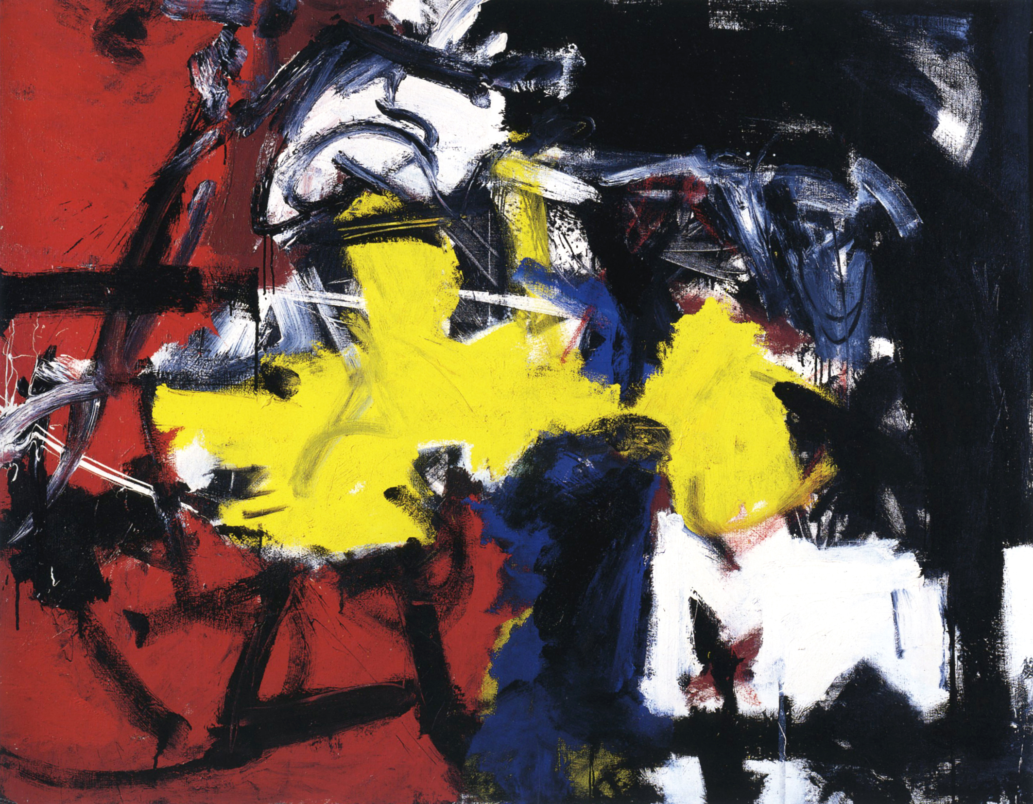 Emilio Vedova, 'Ciclo '62 - (B.3)', 1962, tecnica mista su tela, 145,5 x 185 cm, Courtesy Galleria dello Scudo Verona