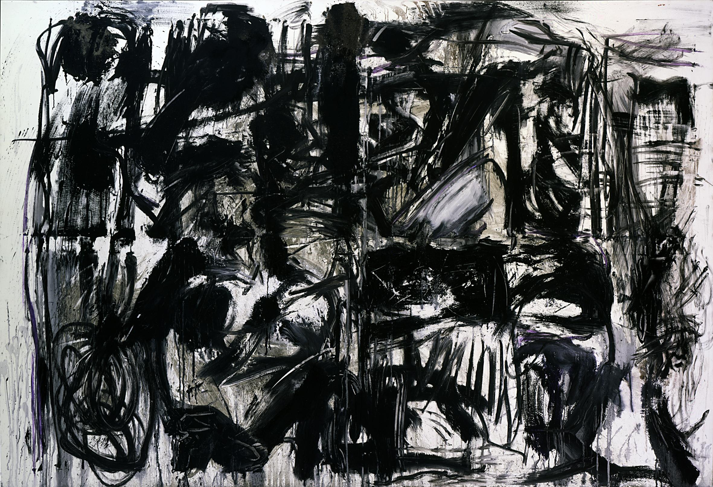 Emilio Vedova, 'Da Dove '83 – 12', 1983, idropittura, pastello, cemento, sabbia su tela, 200 x 300 cm, Courtesy Galleria dello Scudo Verona