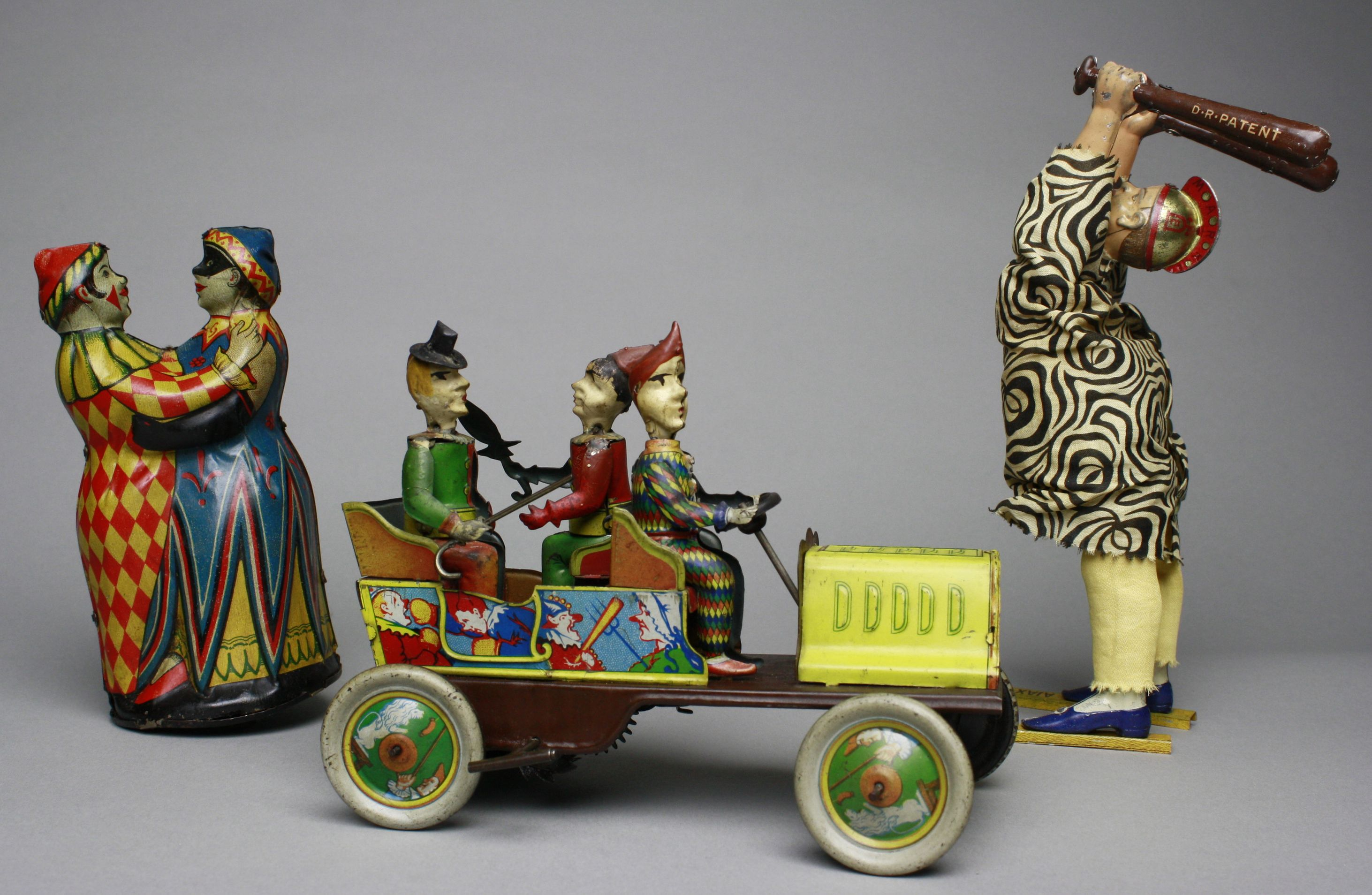 Collection Of Antique Toys And Banks