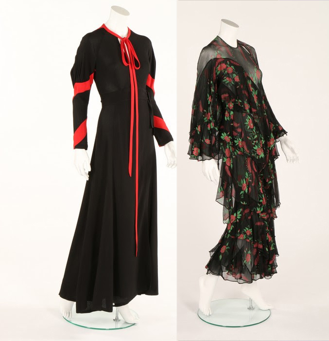 UK designer's vintage fashion collection soars at Kerry Taylor auction