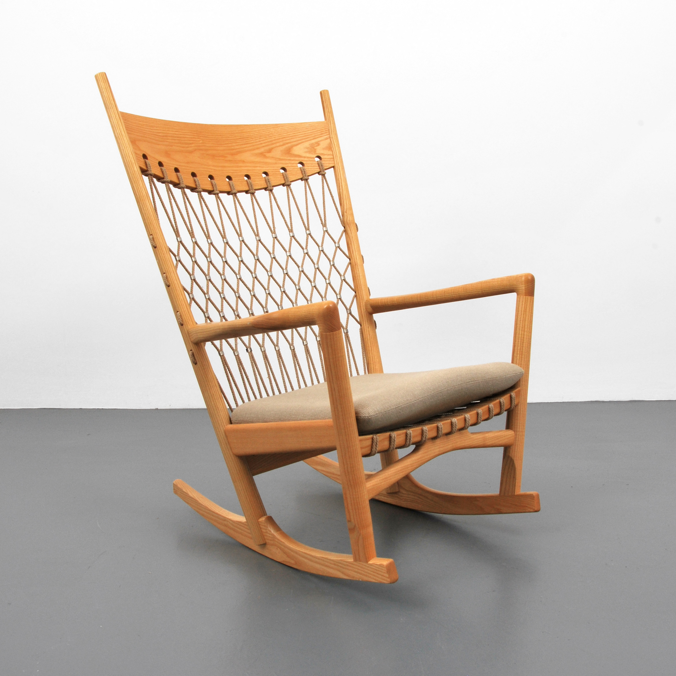 Superieur Rare Hans Wegner Rocking Chair, Manufactured By PP Mobler. Palm Beach  Modern Auctions Image