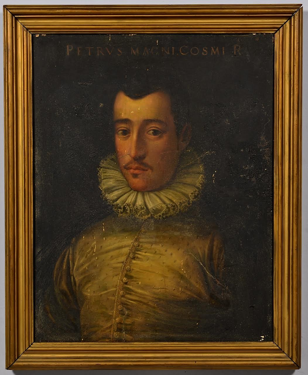 Five centuries of art are represented in the auction. One of the oldest objects is this 16th century Florentine portrait of Pietro di Cosimo del Medici. Estimate: $4,000-$5,000. Case Antiques Auction image
