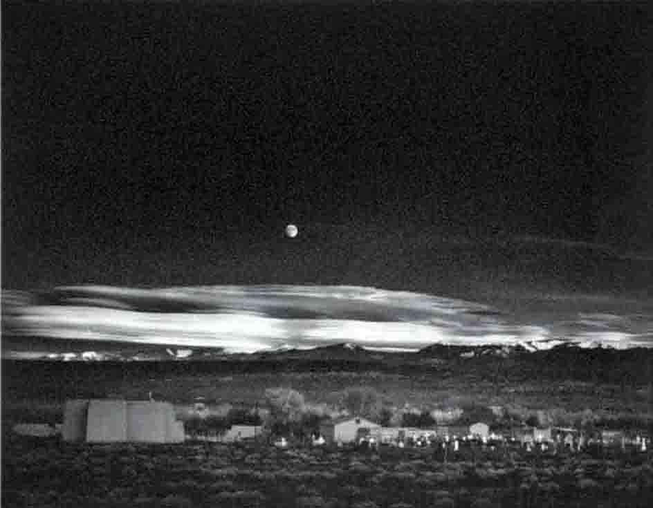 Ansel Adams, 'Moonrise, Hernandez, New Mexico.' Leighton Galleries image