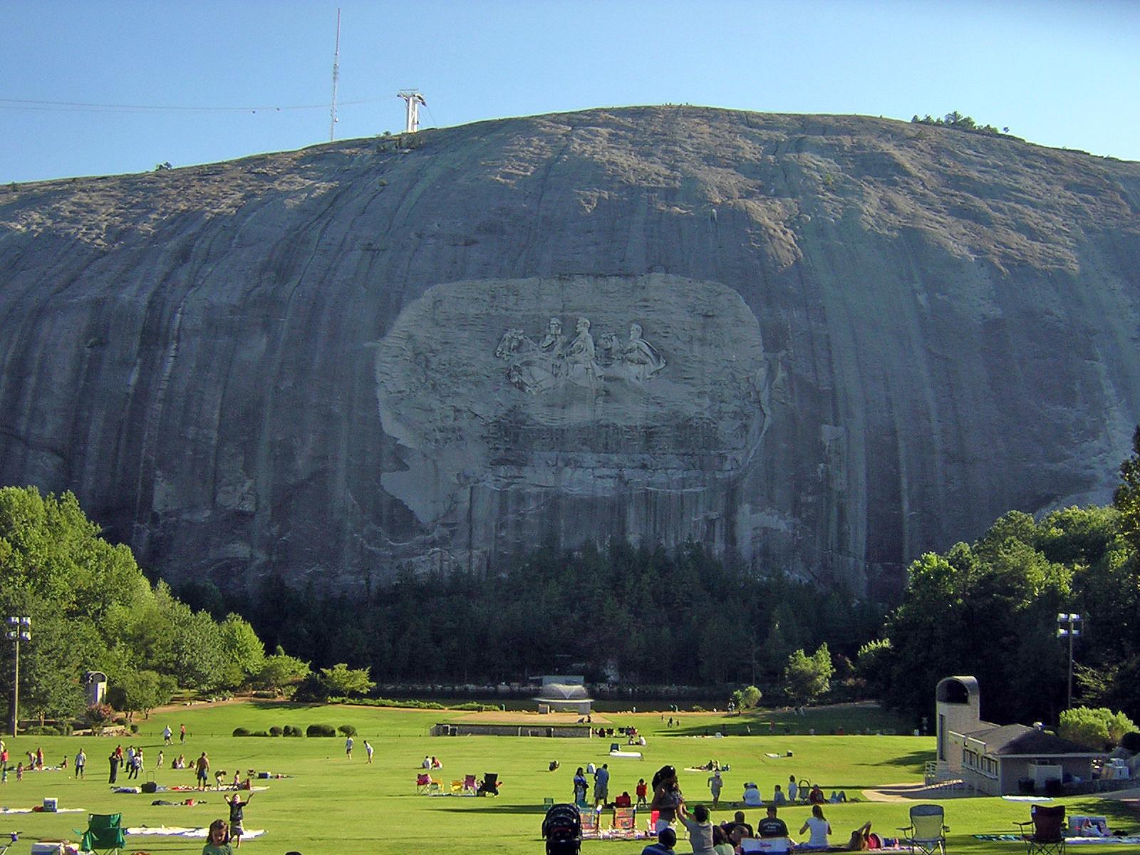 Georgia debates Stone Mountain Confederate monument