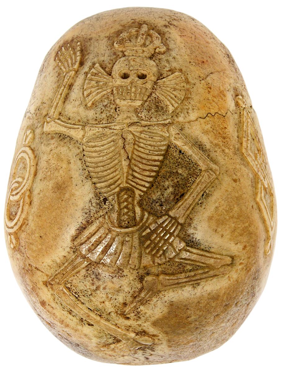 Tibetan ritual kepala skull. AGOPB image