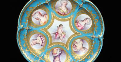 Continental porcelain, silver add elegance to Kaminski sale Sept. 13
