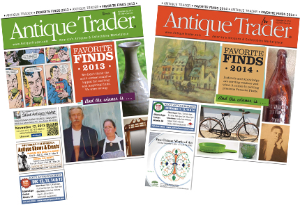 Perhaps your favorite find will be featured on the cover of 'Antique Trader.' 'Antique Trader' image