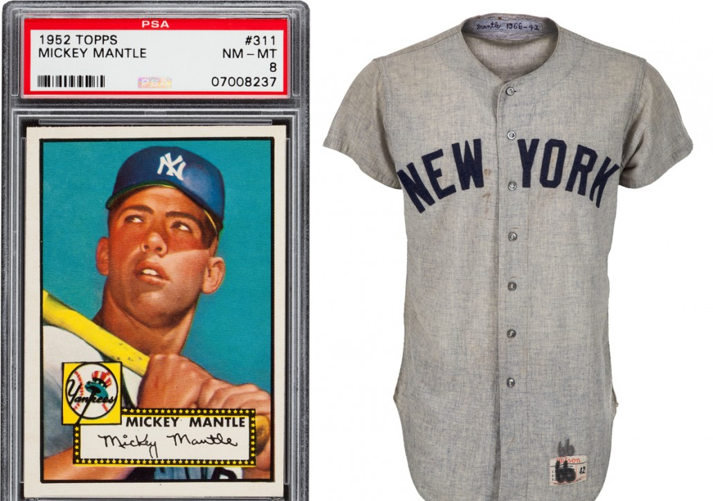 Mantle Clemente All Stars At Heritage Sports Collectors Auction