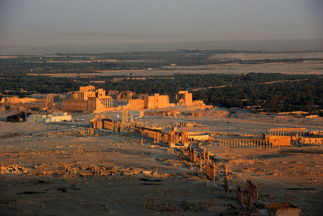 , US Marine colonel says world must protect antiquities