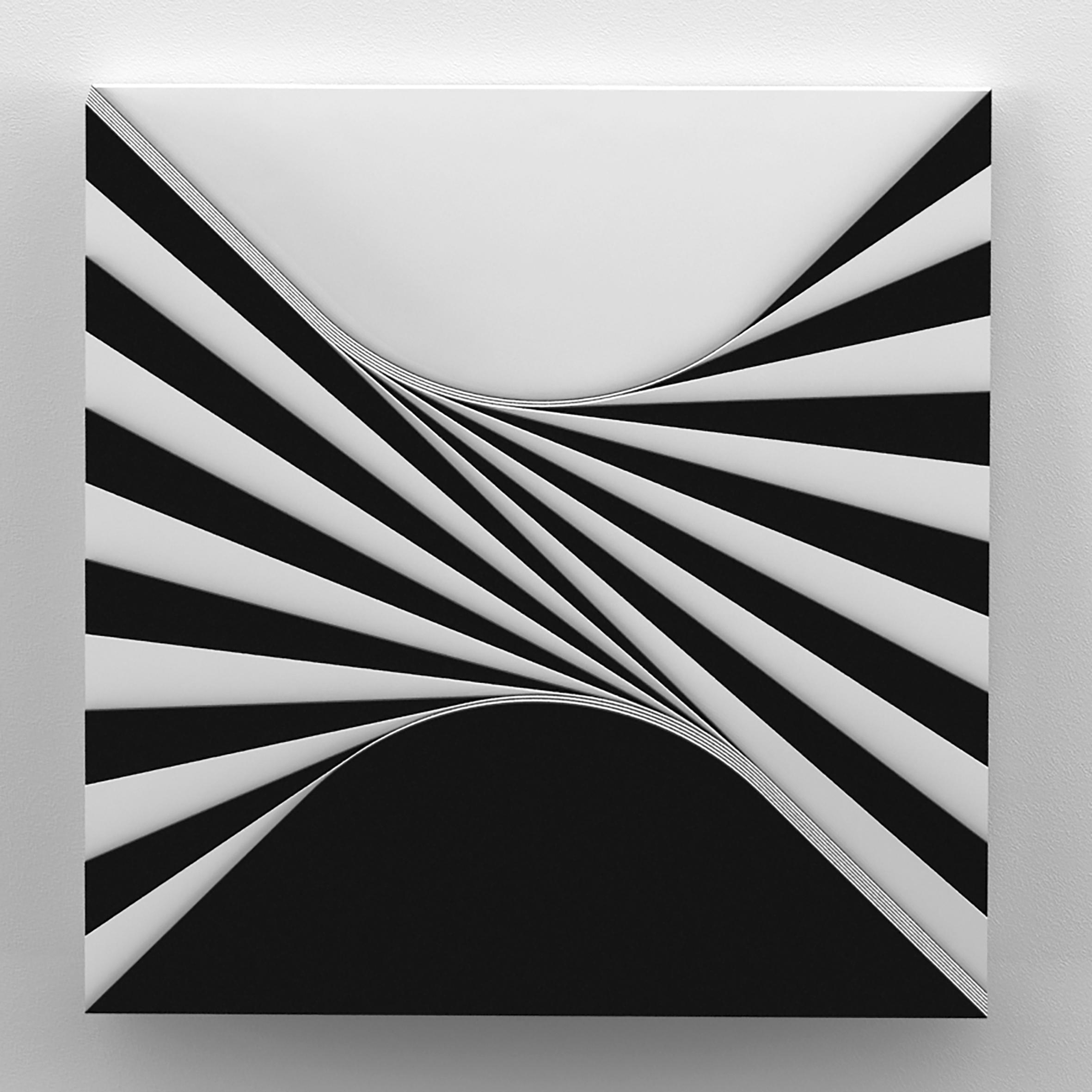 Marcello Morandini, Struttura 516 A / 2007, plexiglas, cm 40x40x8, edizione 9 esemplari Courtesy Cortesi Gallery