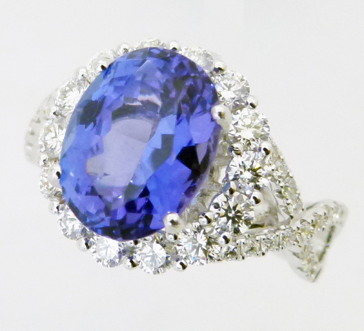 oval jewelry accessories tanzanite gemstones cts aaa gems pin