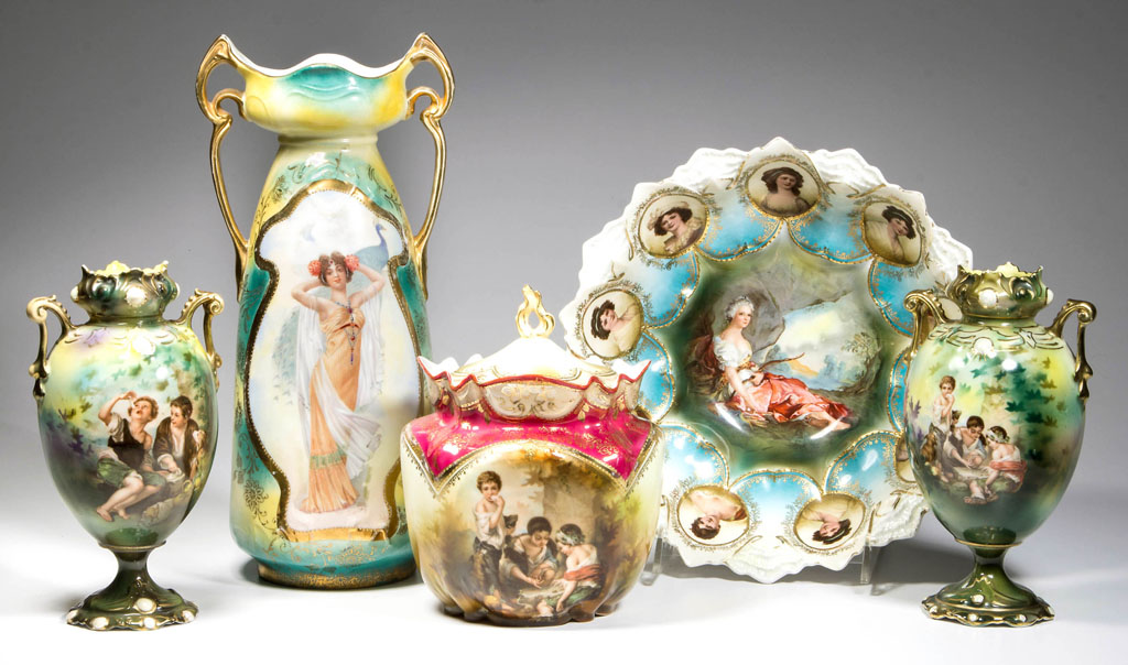 R.S. Prussia collection tops off Jeffrey S. Evans auction Oct. 10