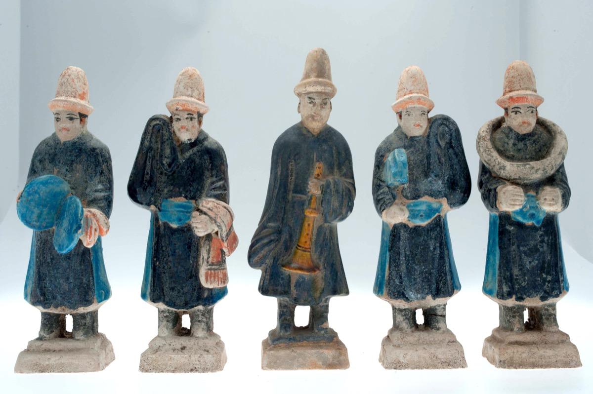 Tang figures