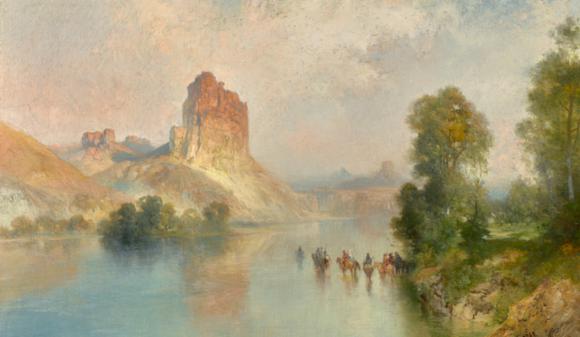 Moran painting