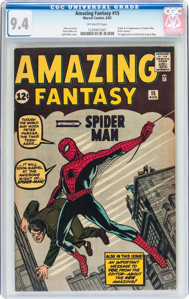 Copy of Amazing Fantasy #15
