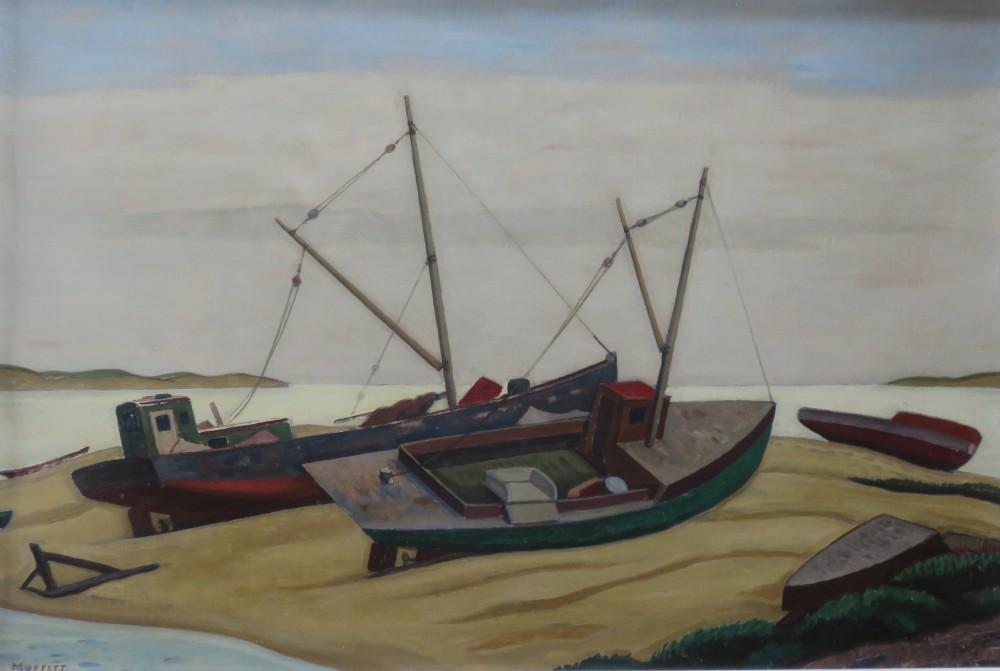 Russ Moffett painting