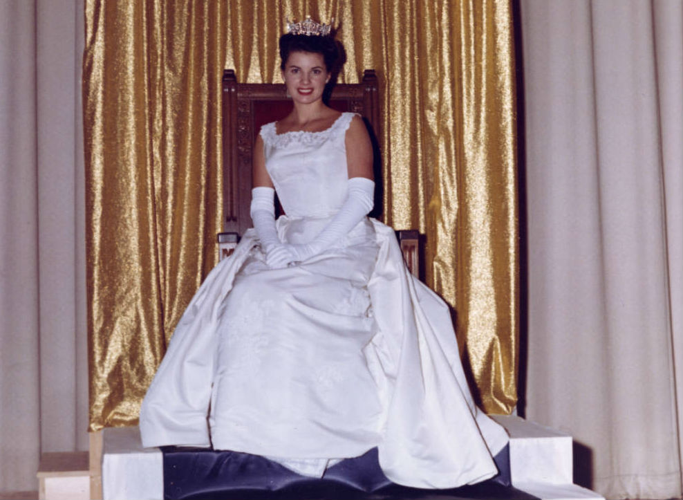 Jackie Mayer, Miss America 1963. Image courtesy of the Ohio History Connection
