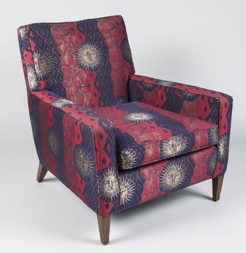 T h robsjohn gibbings lounge chair estimated value 500 700 capo auction image
