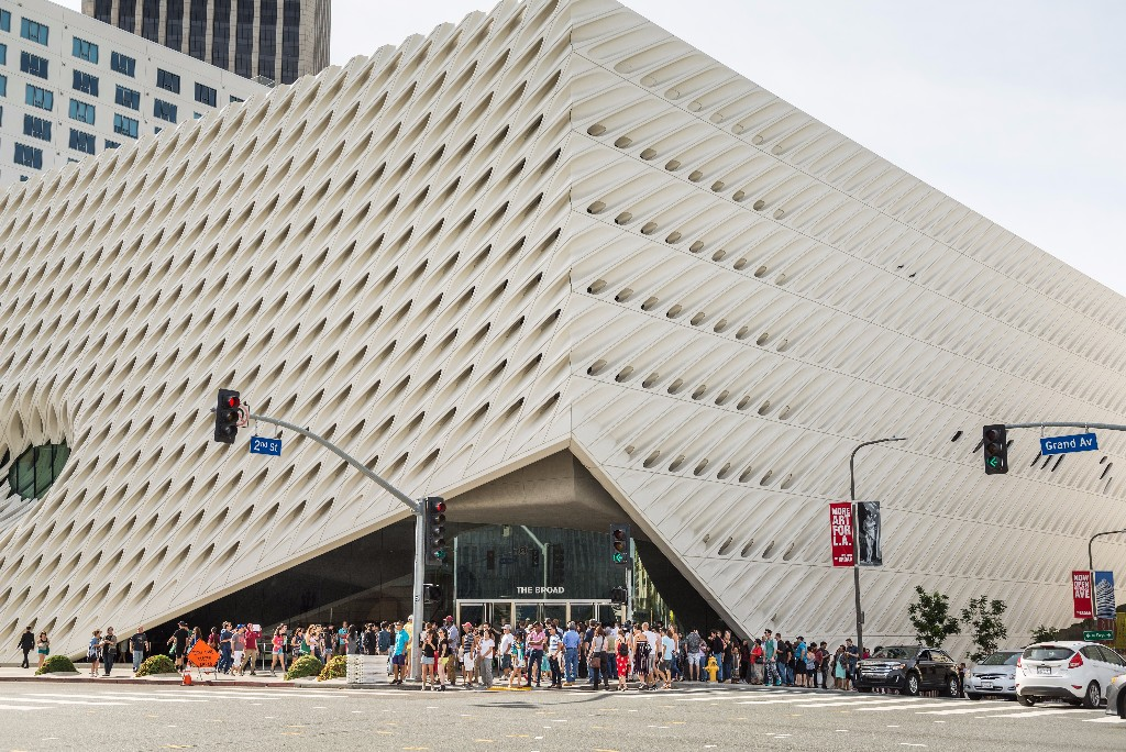 The Broad unveils