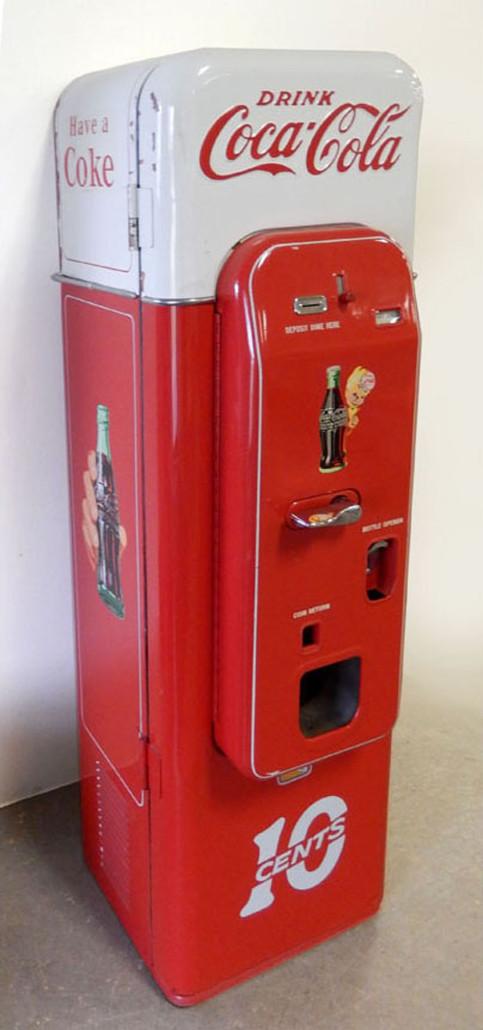 10-cent Coca-Cola Vendo 44 vending machine