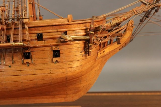 Ship models ready to launch at Boston Harbor auction April 20