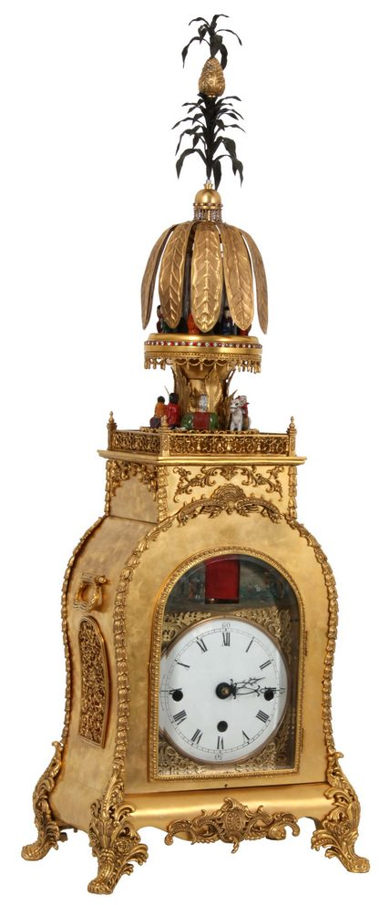 Chinese bracket clock