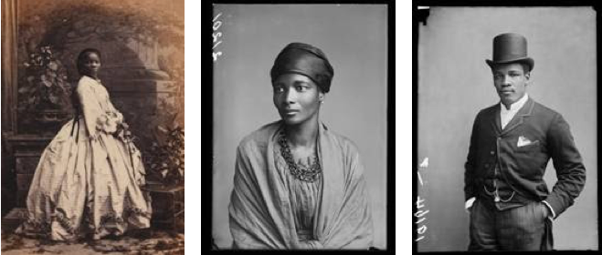 London gallery presents early photos of black subjects