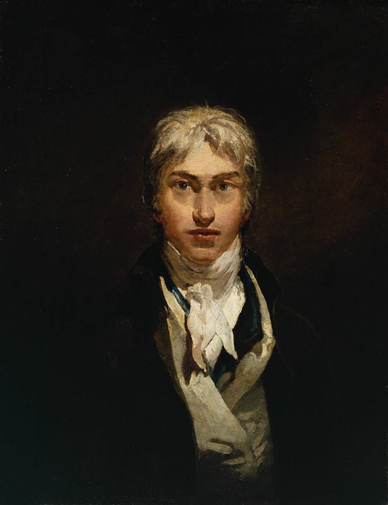 J.M.W. Turner, 'Self-portrait,' oil on canvas, circa 1799. Tate image
