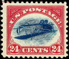 Stolen in 1955, famous inverted Jenny stamp resurfaces
