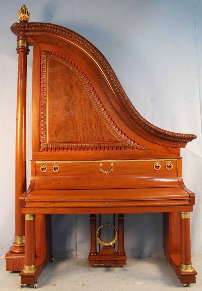 Victorian giraffe piano
