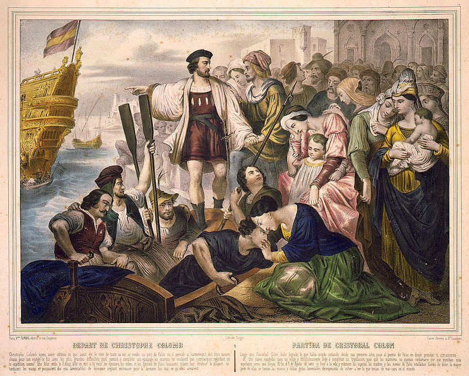Christopher Columbus Letter To King Ferdinand.1493 Christopher Columbus Letter Returned To Italy
