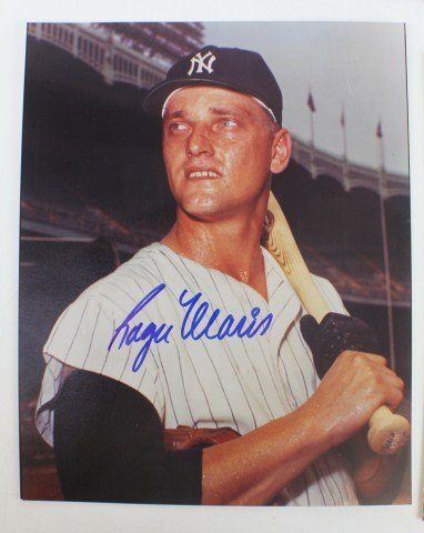 Roger Maris of the New York Yankees. Image courtesy of LiveAuctioneers archive and Manor Auctions