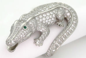 Cartier gator ring could reach $50K at Empire Auction Sept. 20