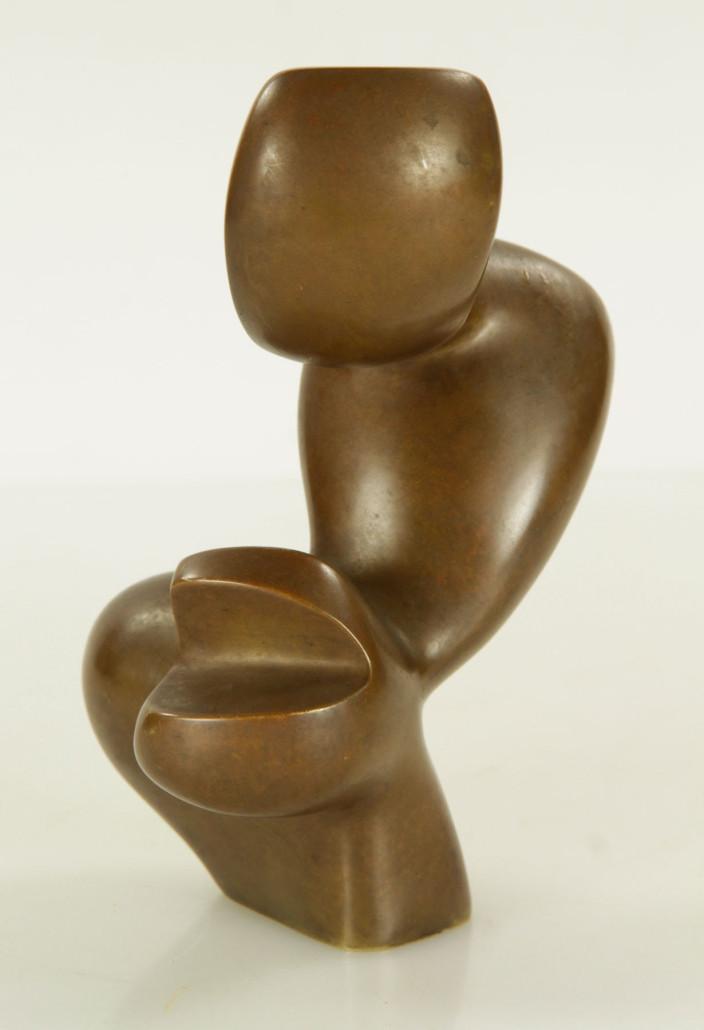 Jean Arp, figural abstract bronze, est. $5,000-$10,000