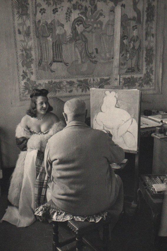 Cartier-Bresson, 'Matisse in Vence, France, 1944.' Sheet-fed copper plate gravure printed in 1952. Estimate: $150-$225. Jasper52 image