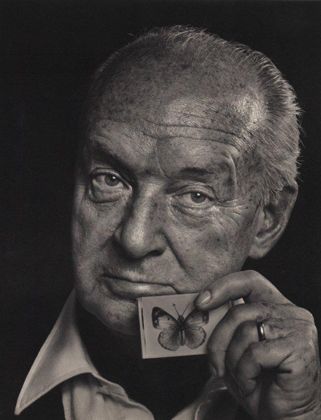 Yousuf Karsh, 'Vladimir Nabokov,' 1976. Sheet-fed copper plate gravure. Estimate: $100-$150. Jasper52 image