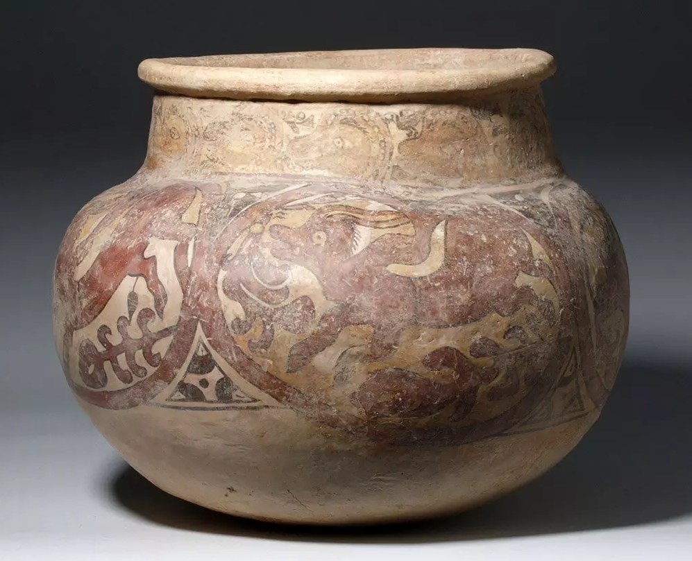 Large and important Gandharan pottery jar with antelope motif, Gandharan (India/Pakistan), circa 2nd/3rd century CE, est. $18,000-$25,000