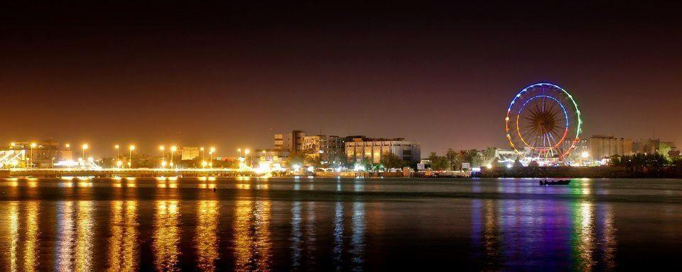 View of Basra at night. Image licensed under the Creative Commons Attribution-Share Alike 3.0 Unported license